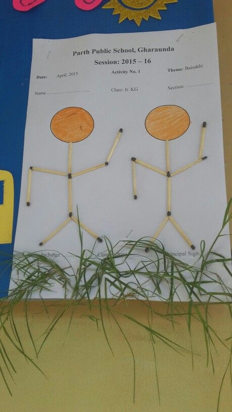 Baisakhi Activity New Ideas For Display Boards Crafts For Kids