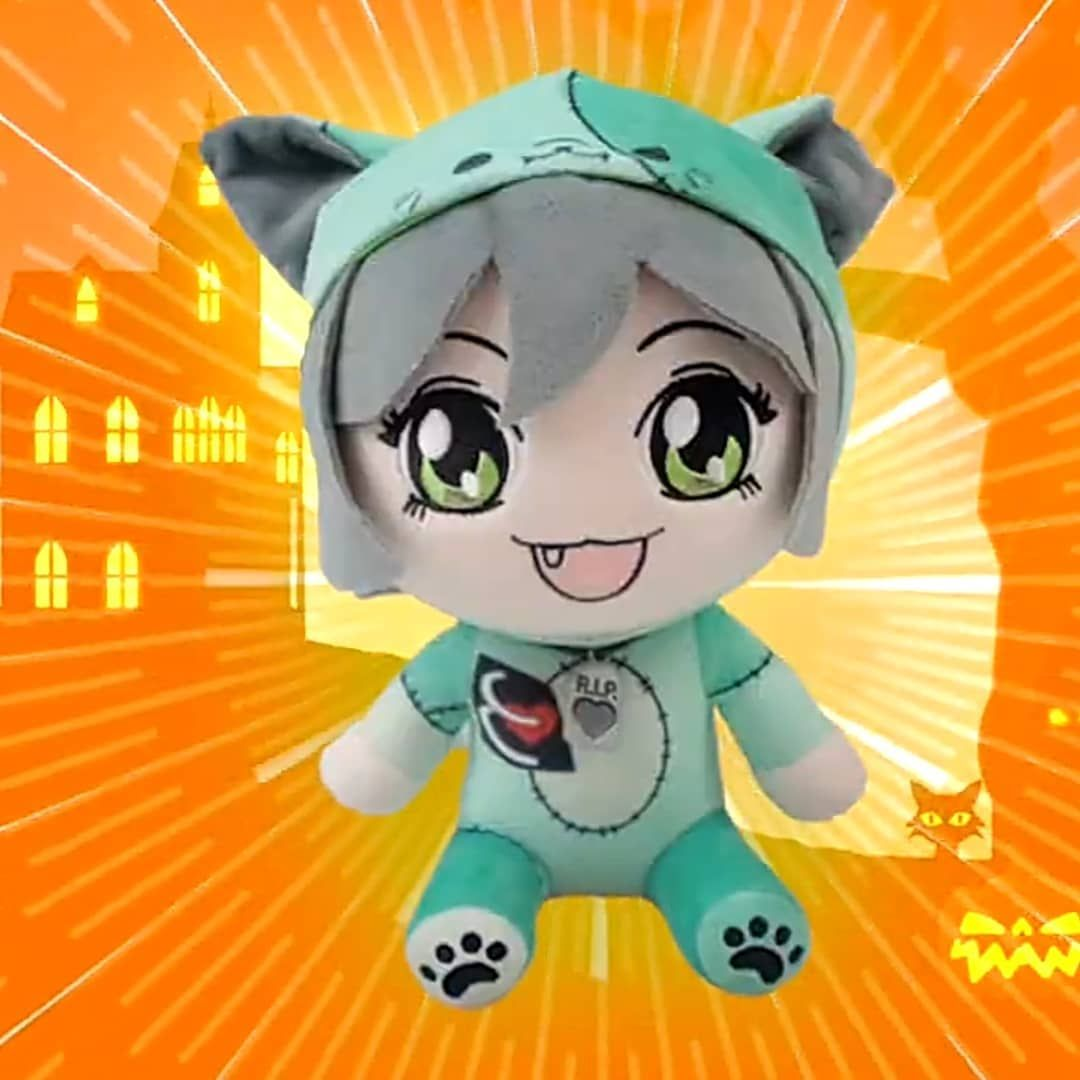 19 Likes 0 Comments Zylon Sweettseed On Instagram Cute Zombie Jade Plushie 3 Cute Zombie Squad Pictures Zombie