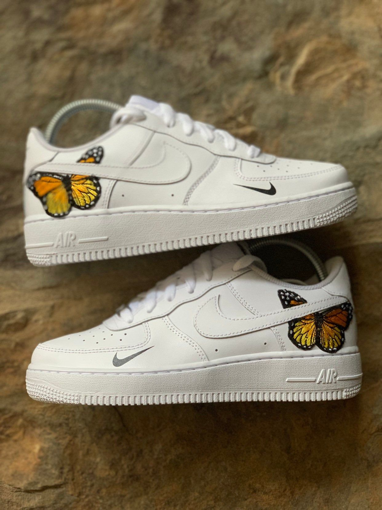 Custom Air Force 1 // Butterfly Air Force 1 Aesthetic
