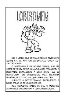 Sosprofessor Atividades Lendas Brasileiras Lendas Folclore
