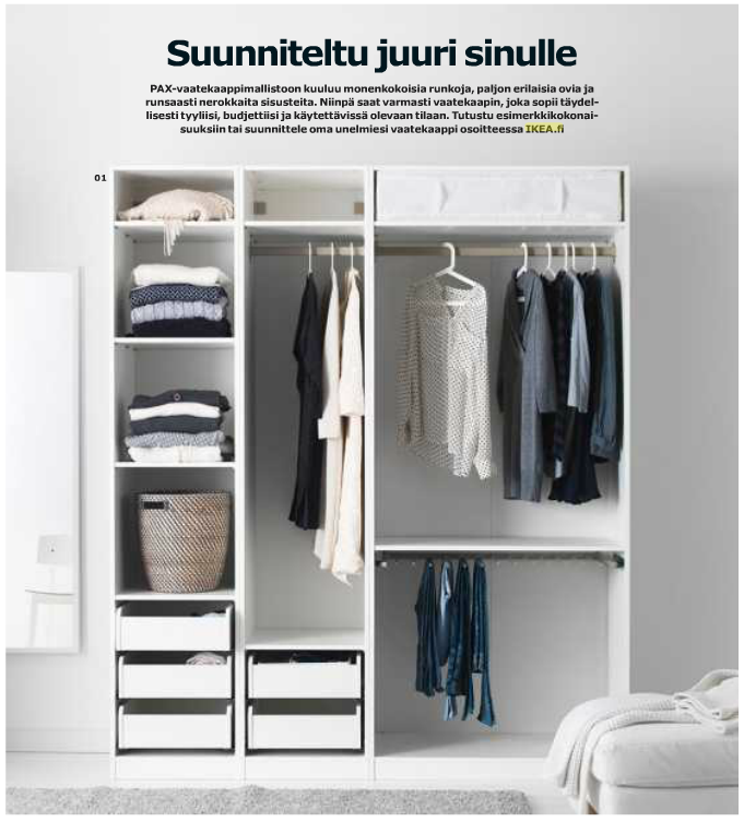 Great Idea That You Can Build Your Own Wardrobe   IKEA