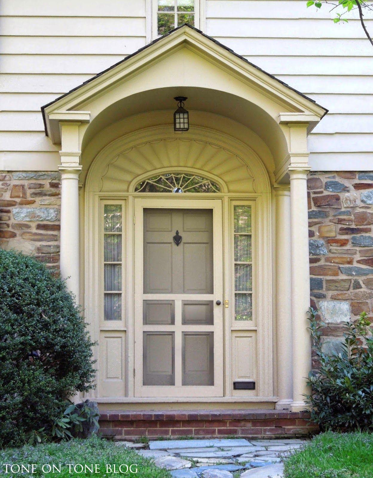 Tone On Tone Storm Doors Ideas And Inspirations Front Door Shop Doors Storm Door