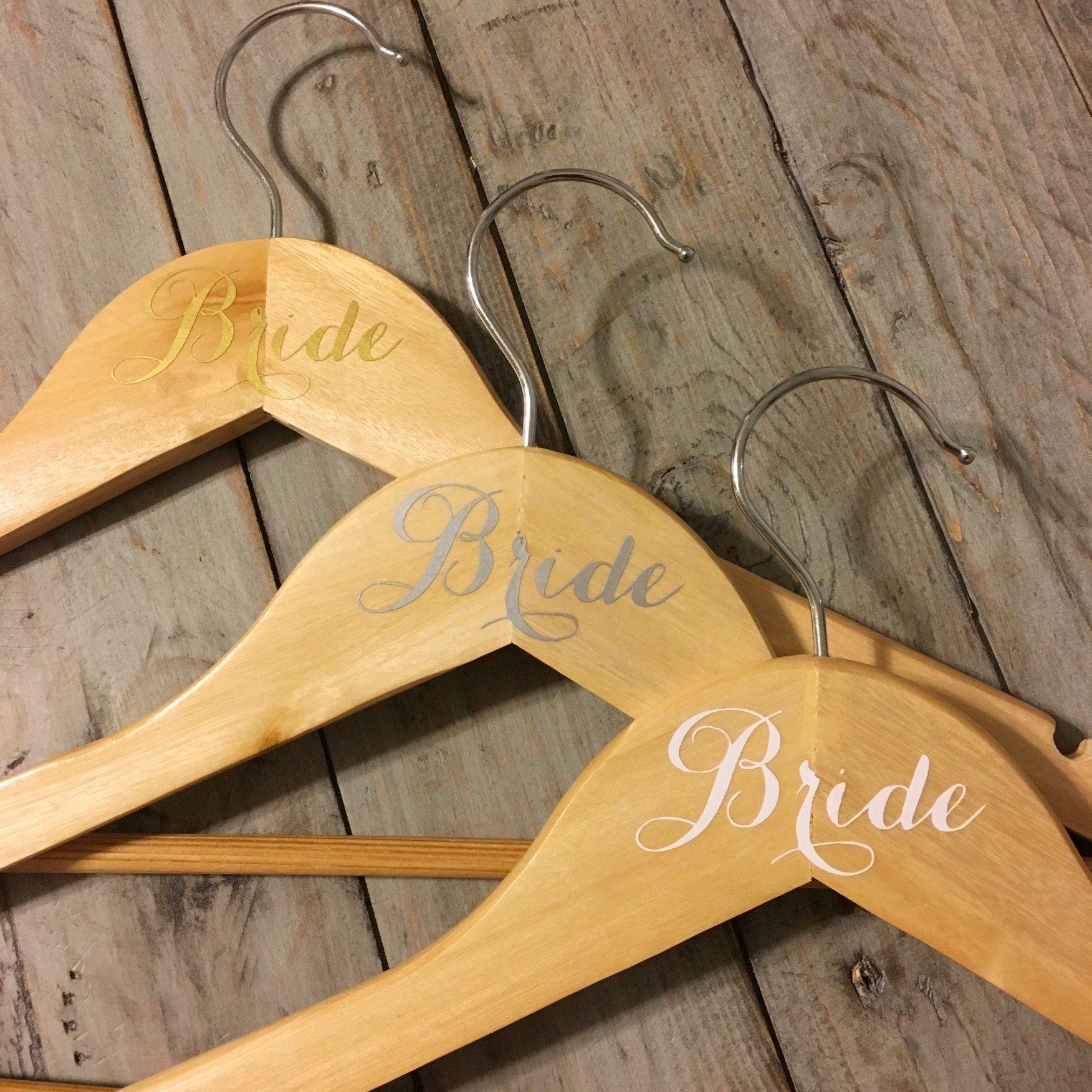 Decorative Wooden Bridesmaid Hanger