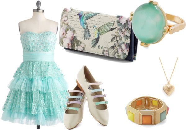 """""""Blue Tulle"""" by beautyscene17 on Polyvore"""