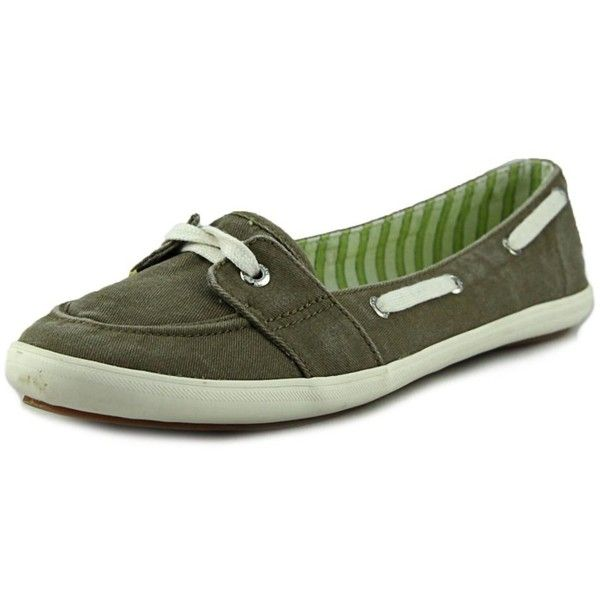 72b595382c42 Keds Keds Champion Wool Women Round Toe Canvas Green Sneakers ( 42) ❤ liked  on