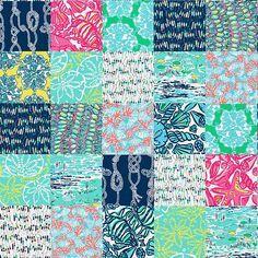 6ce9647cc4553b Multi Sailor Patch (??) | Lilly Pulitzer Patch Prints | Preppy ...