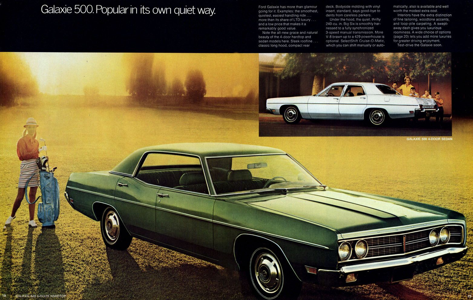 1970 Ford Full Sized Model Literature Galaxie 500 My Mom Had A 1970 Galaxie 500 In Metallic Brown According To Our Parents Ford Galaxie Galaxie 500 Galaxie