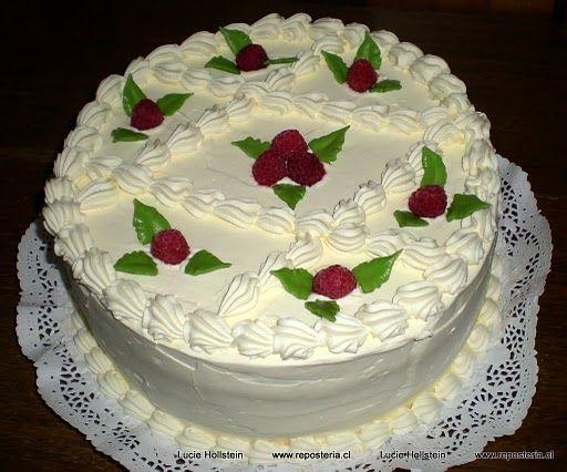 Resultado de imagen para imagenes de tortas decoradas con crema ...