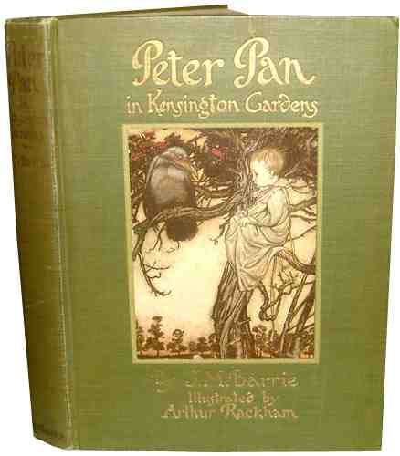 Peter Pan In Kensington Gardens First Edition