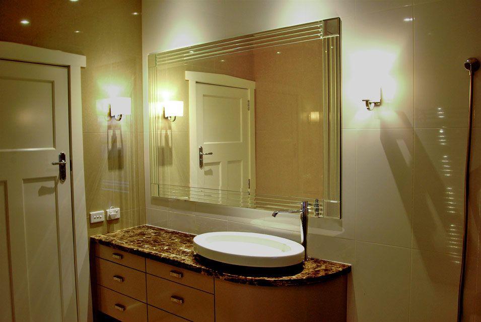 Bathroom mirror melbourne art deco bathroom