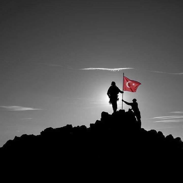 Afrin Zeytindali Bayrak Polis Asker Vatan Turk