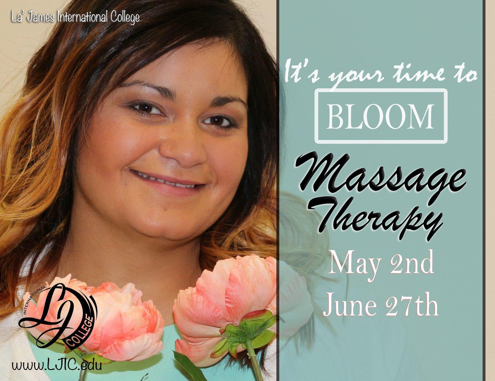 Iowa massage therapy school programs la james