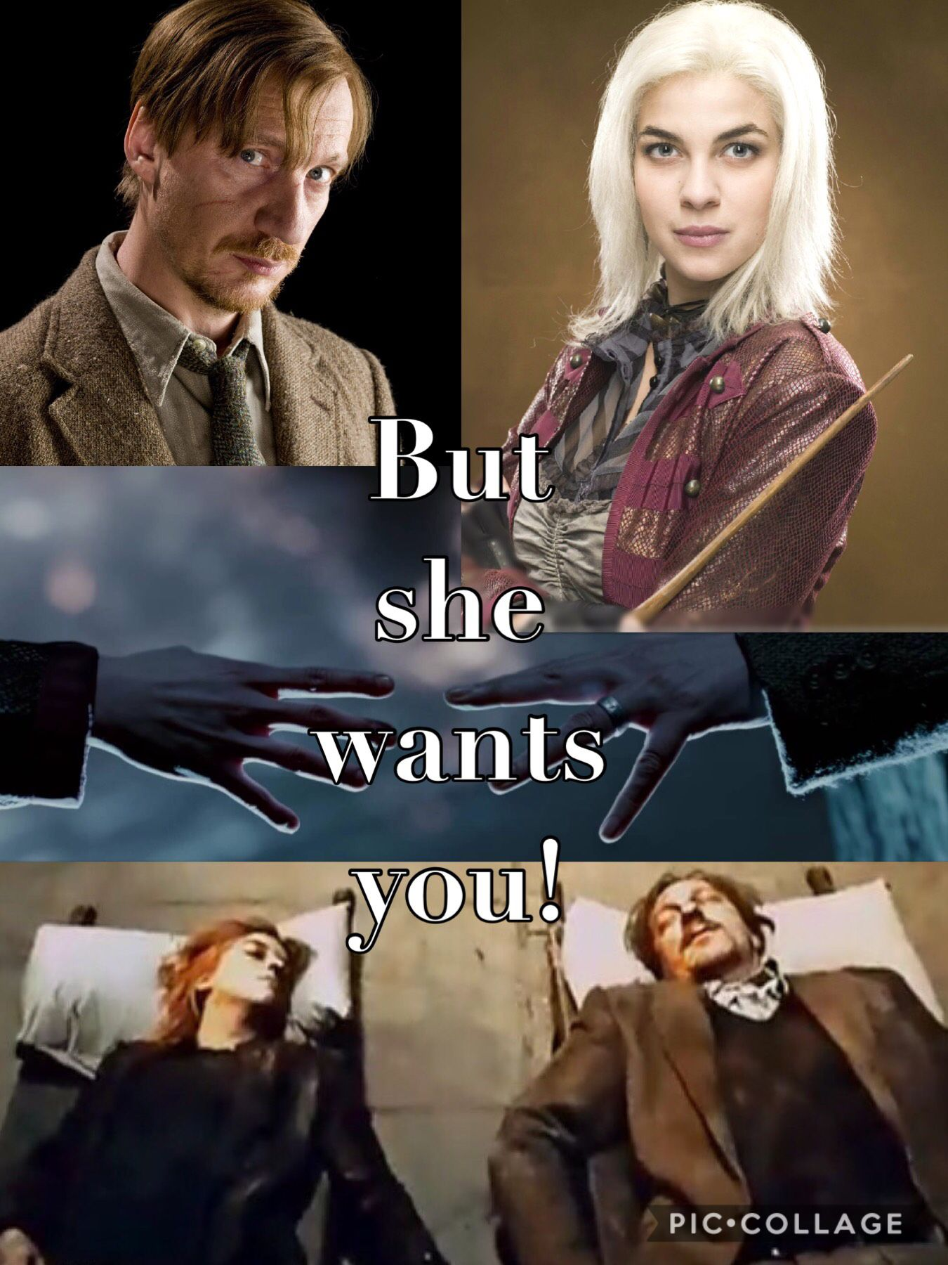 But She Wants You At Least They Are Together In Heaven Now Tonks Harry Potter Harry Potter Characters Harry Potter Jokes