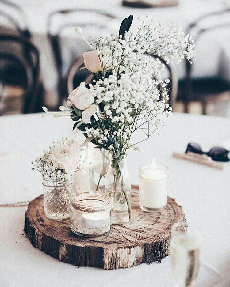 centro de mesa boda diy