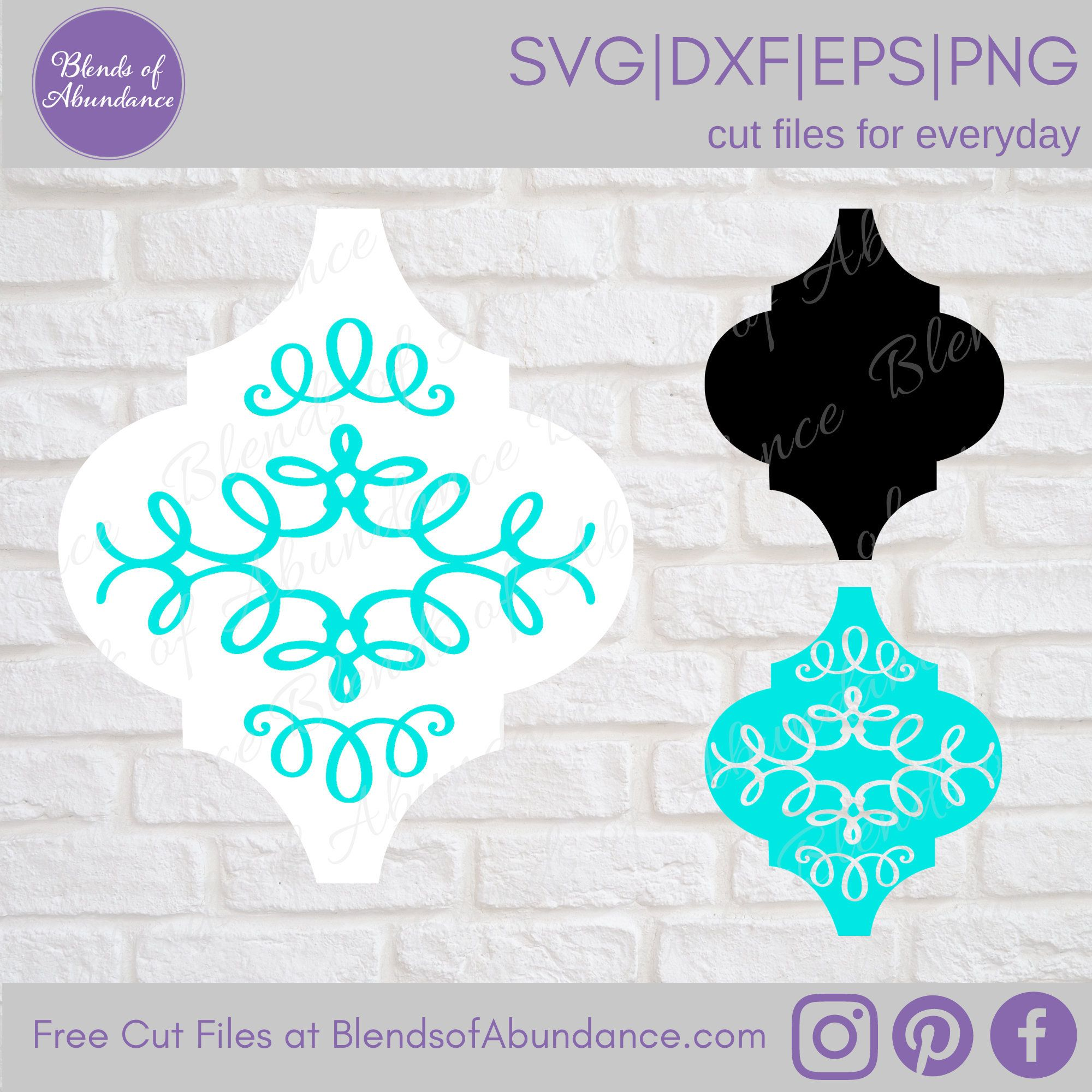 Decorative Ornament Svg Tile Ornament Svg Tile Ornament Etsy Ornament Template Arabesque Tile Cricut Creations