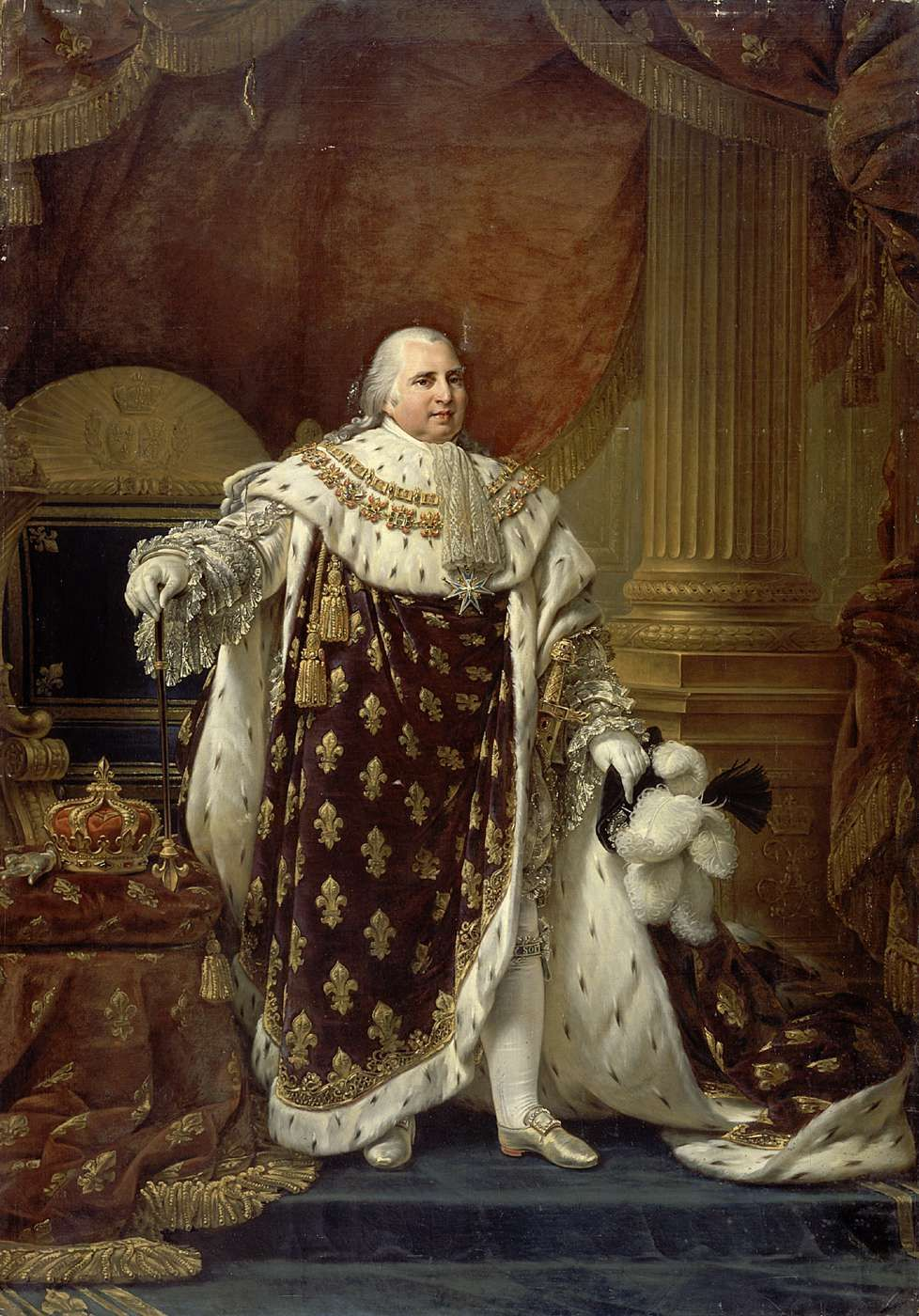 Portraits En Costume De Sacre De Louis Xvi A Charles X L Histoire Par L Image Plein Cadre Roi De France Monarchie Francaise Portraits