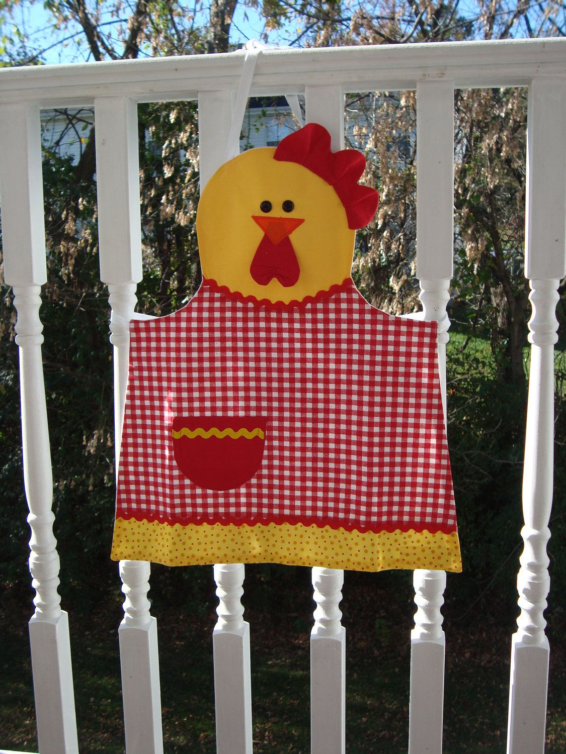 Childs Barn Yard Rooster Apron