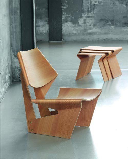 27 Contemporary Plywood Furniture Designs Pallets Pinterest - muebles en madera modernos