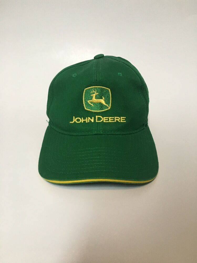Basic Green John Deere Adjustable SnapBack Hat  fashion  clothing  shoes   accessories   10c8290dae2