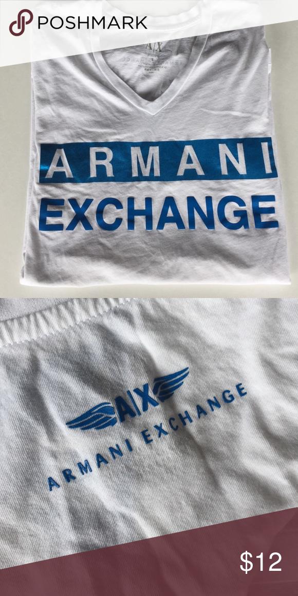Armani Exchange Tshirt V-neck • New A/X Armani Exchange Tops Tees - Short Sleeve