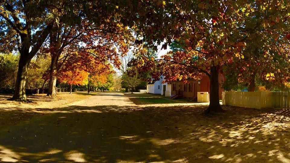 A fall day at Colonial Williamsburg Williamsburg
