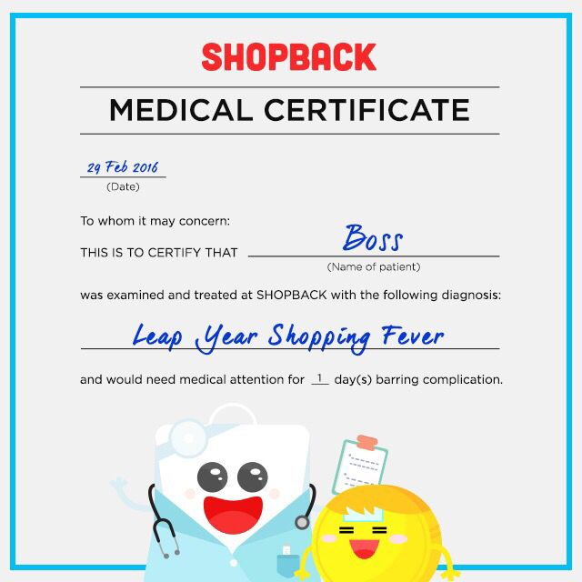 Did you realize that youu0027re working FOR FREE on Leap Day? Let us - free medical certificate