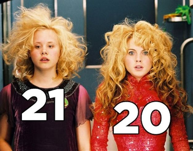 Confessions Of A Teenage Drama Queen. | The Real Ages Of '00s Movie Teenagers