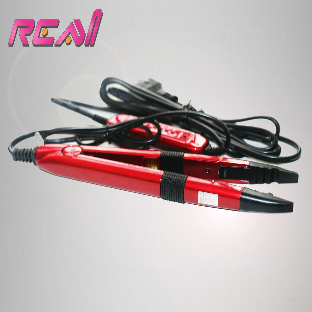 Freeshippinng Red Color Tem Control Fusion Iron For Keratin Pre