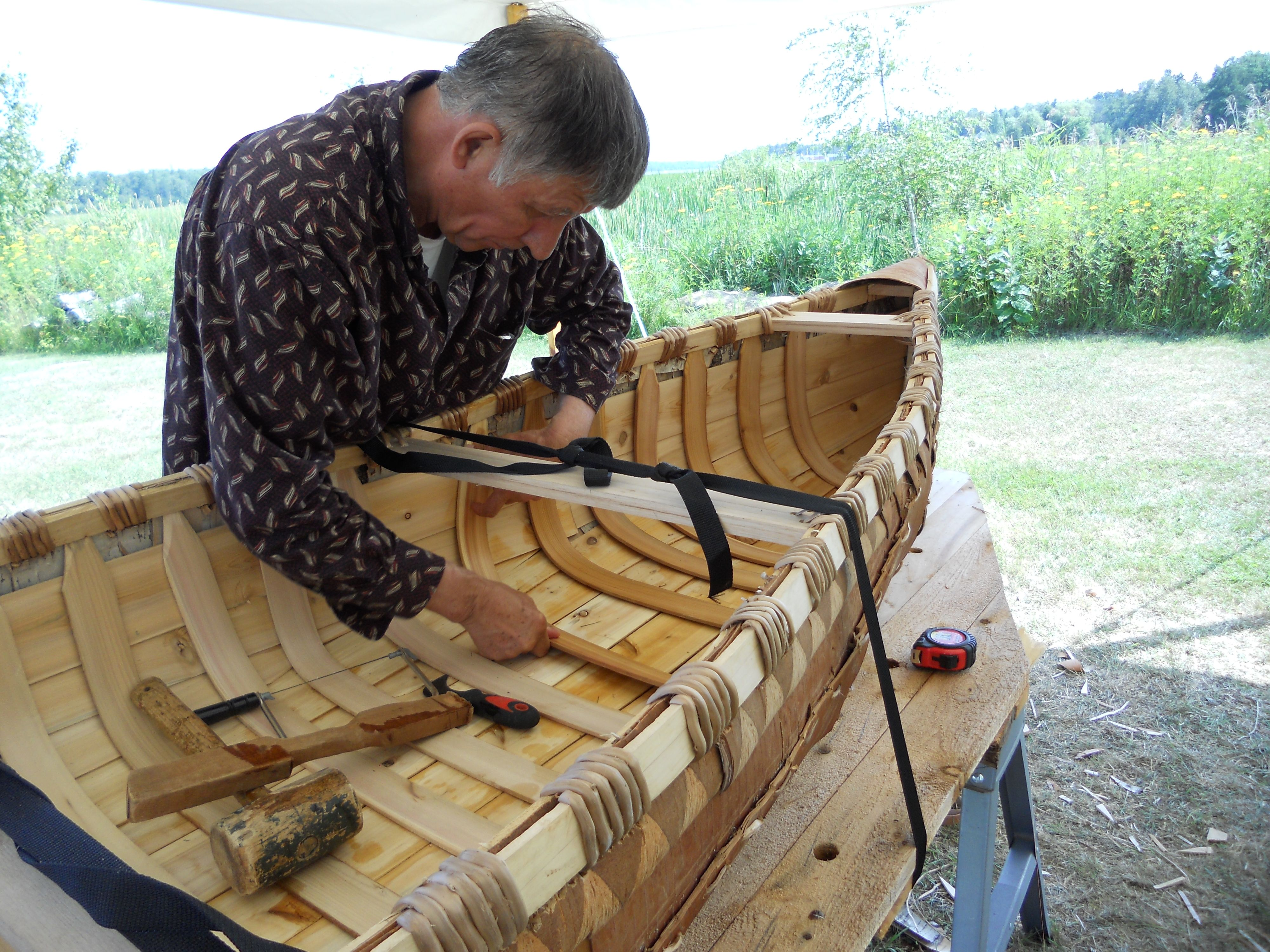 Master Native American Traditional Craftsman Ron Paquin