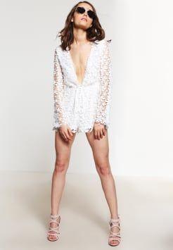 Missguided Petite - Jumpsuit - white