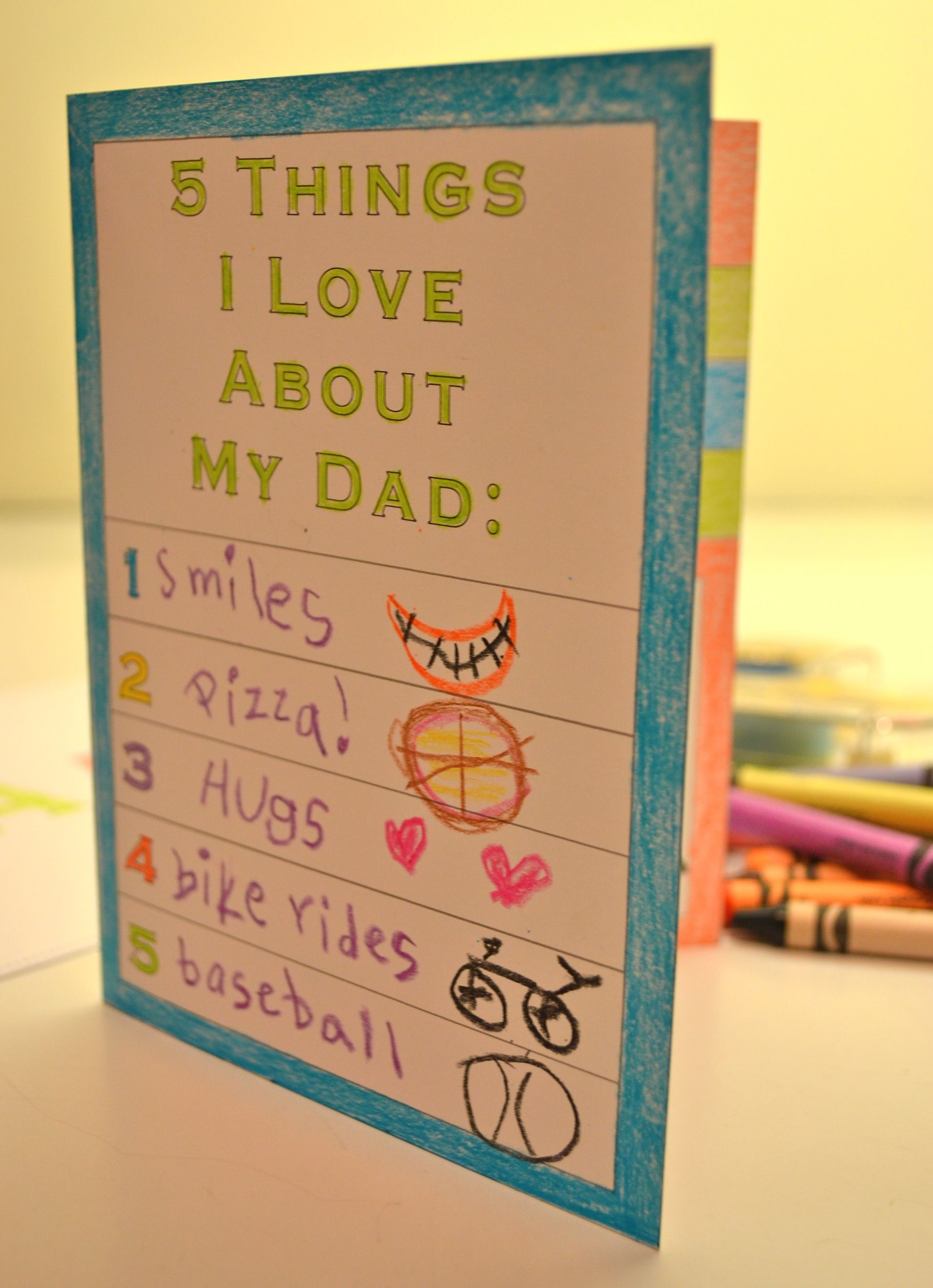 With Love On Father's Day Greeting Card For A Special Dad From Your Son