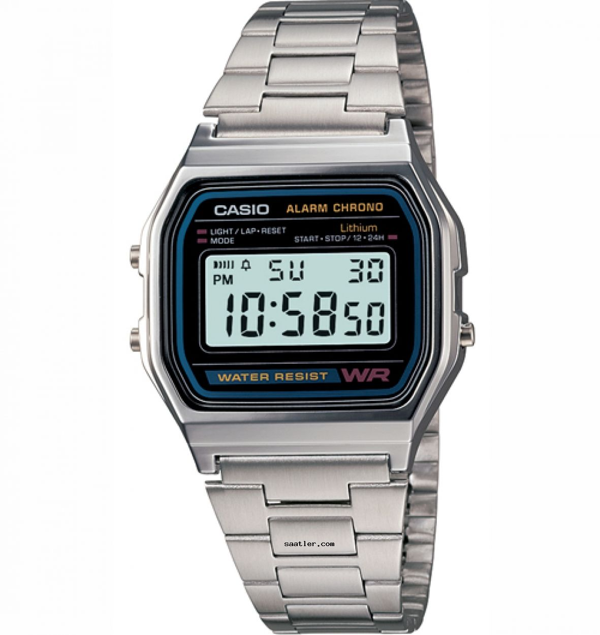 Casio A158wa 1df Kol Saati Erkek Kol Saatleri Dijital Saat Retro