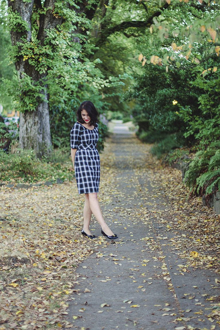 Dahlia by Colette Patterns   sewing pattern: dresses   Pinterest