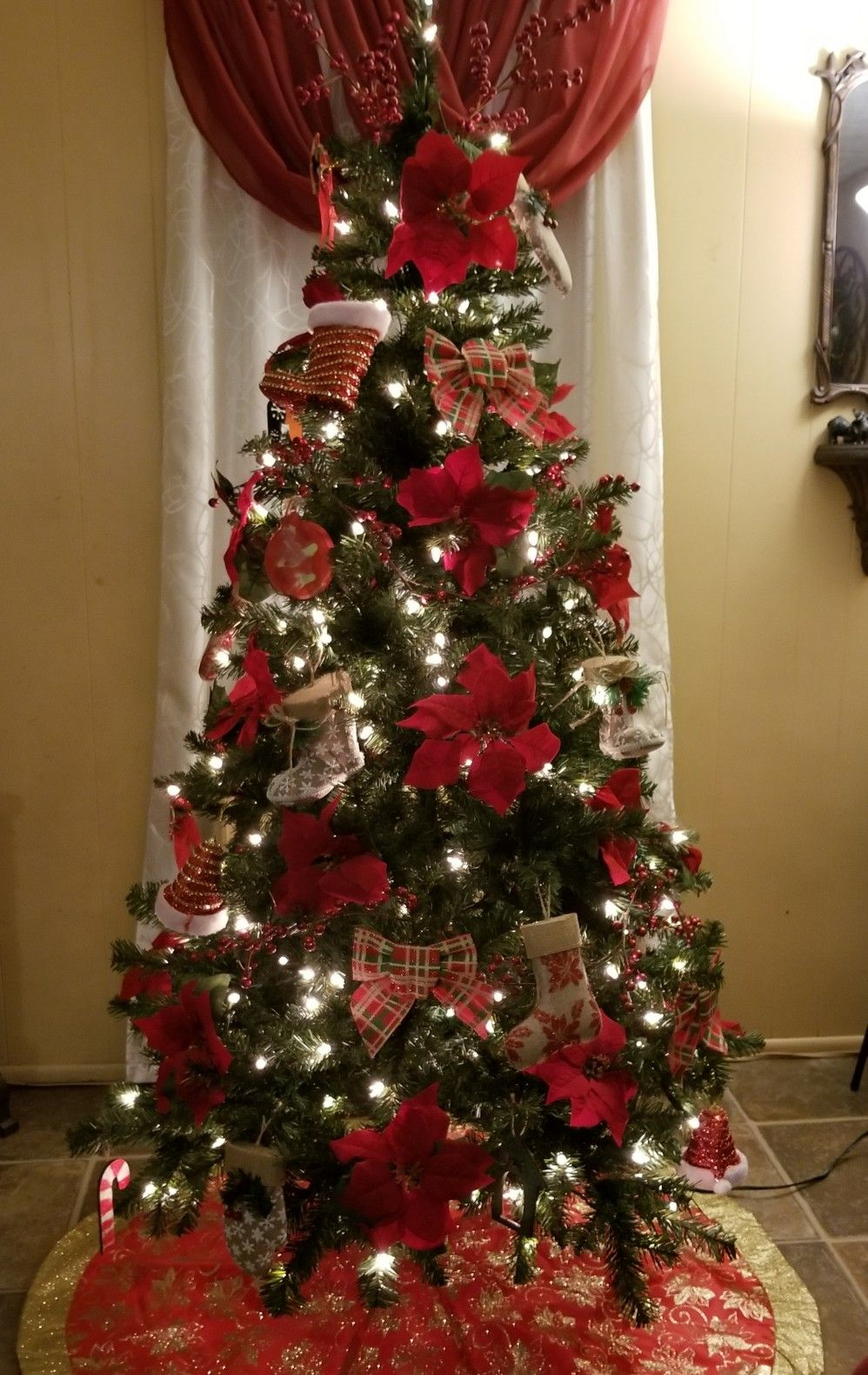 My 2018 tree Christmas decorations, Holiday decor, Decor