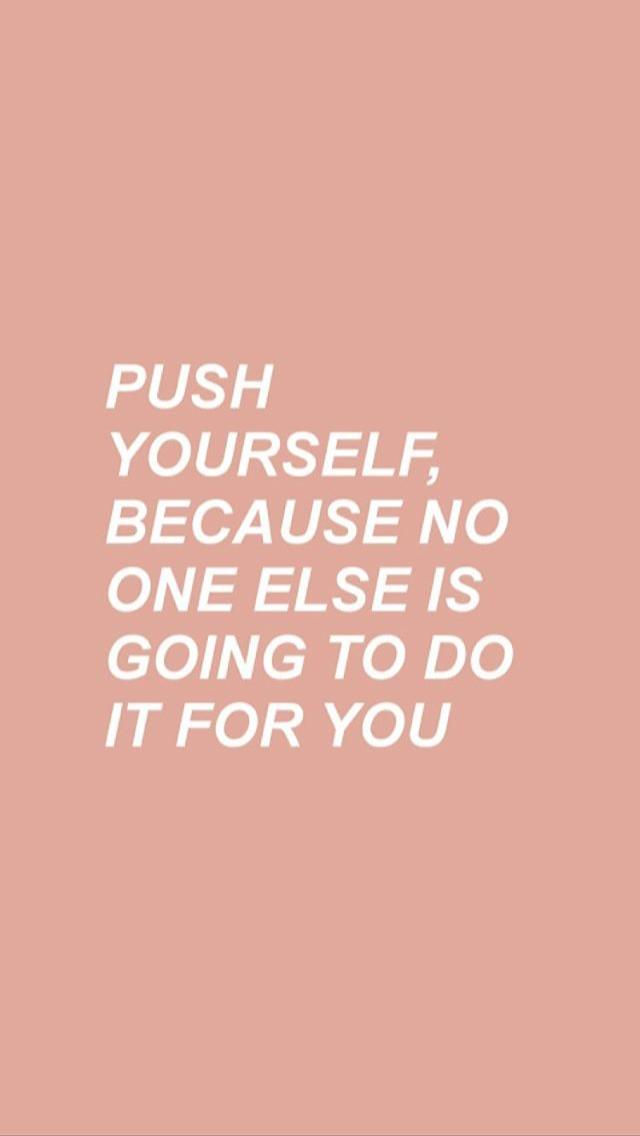 pinterest | @ailsahx | Motivational quotes wallpaper ...
