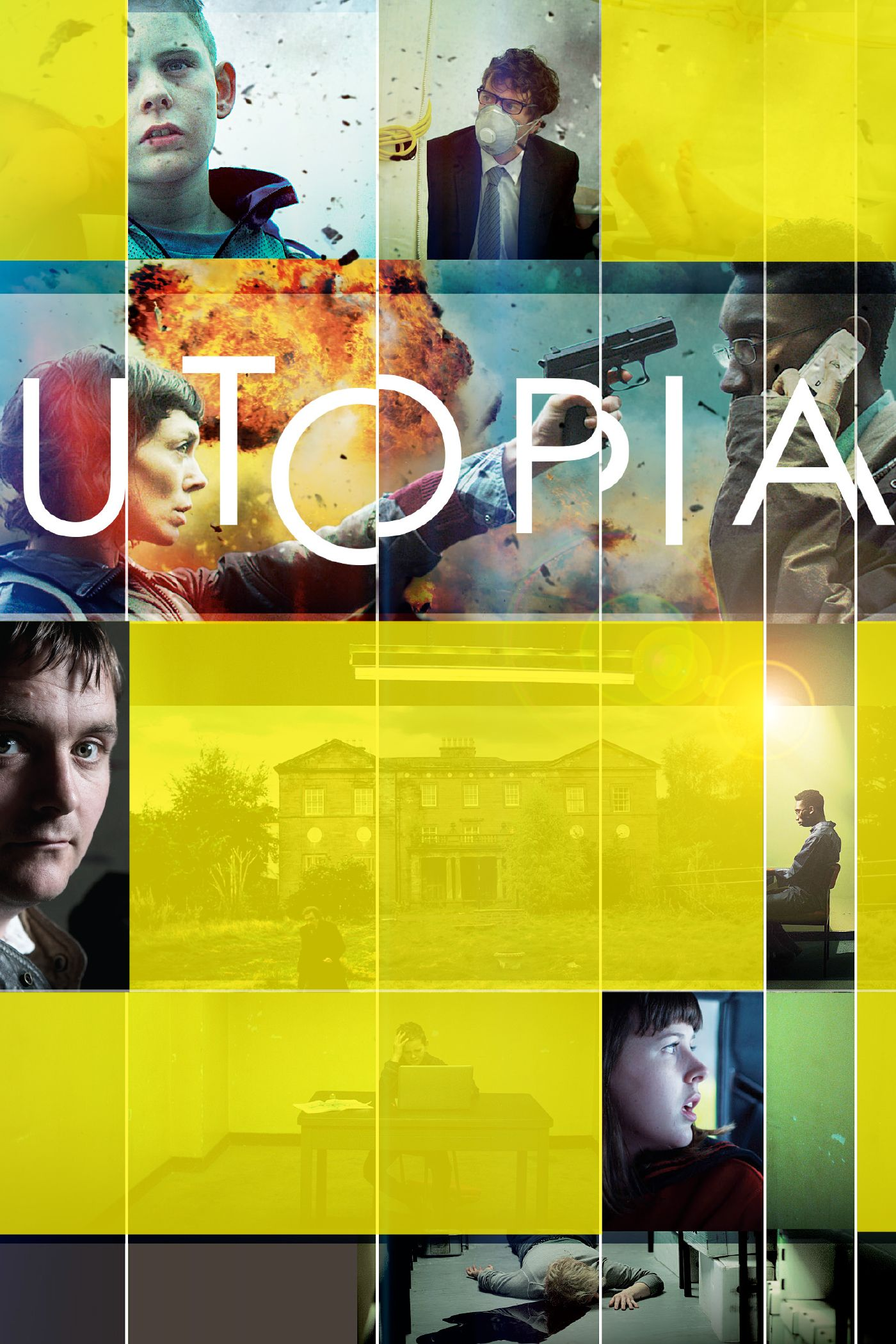 UTOPIA - such a good series! Conspiracy theories, dark
