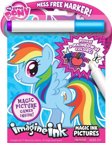 Bendon Publishing My Little Pony Magic Ink Book Coloring Books My Little Pony Little Pony