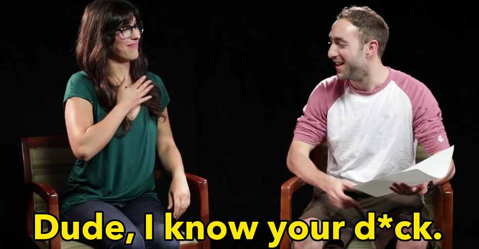 Watch These Girlfriends Describe Their Boyfriend's Penis To A Police Sketch  Artist