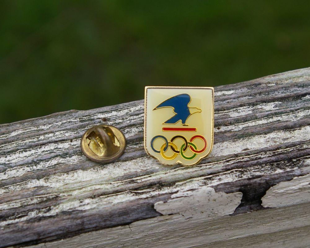 Vintage US Postal Service Enamel Pin 1b