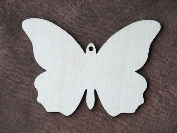 Butterflies Quality Plywood Laser Cut Wooden Shapes Stencils