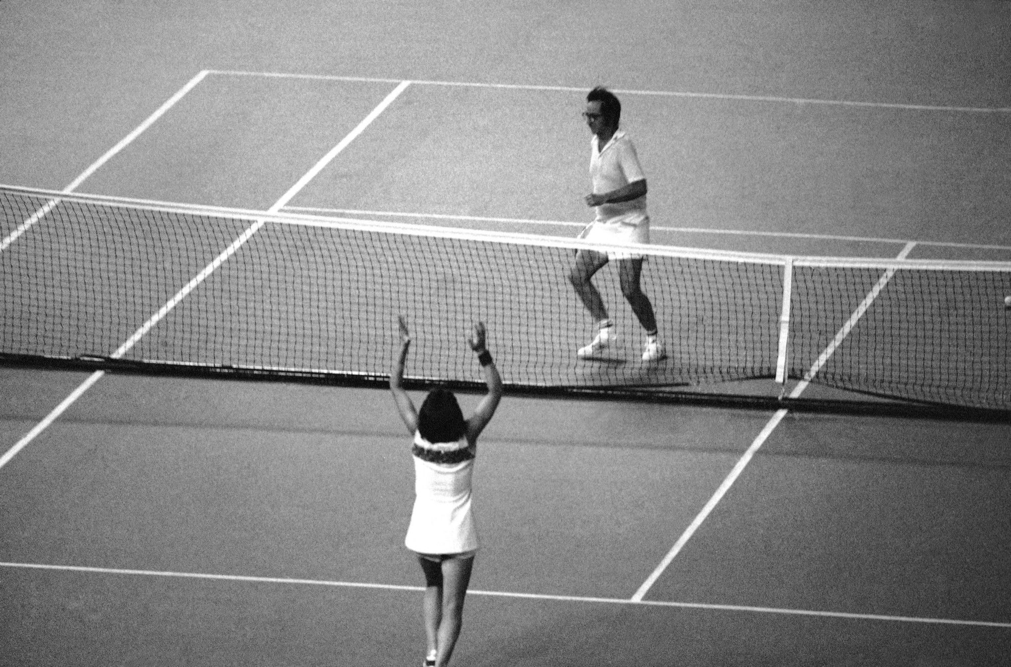 Photos Of The Real Battle Of The Sexes Show Billie Jean King S