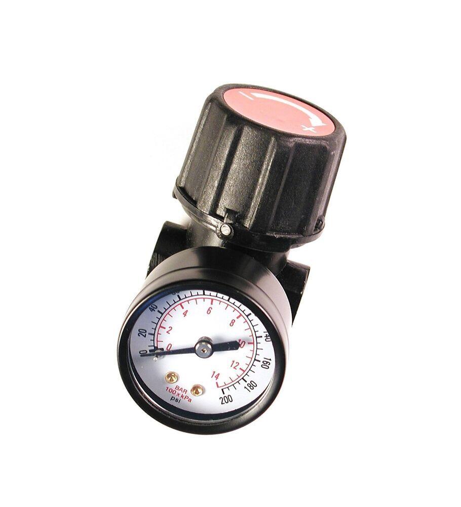 Primefit Cr1401g Replacement Air Regulator With Steel Protected Gauge 1 4 Npt 6 18end Date May 06 14 59buy It Now For Air Compressor Oil Regulators Gauges