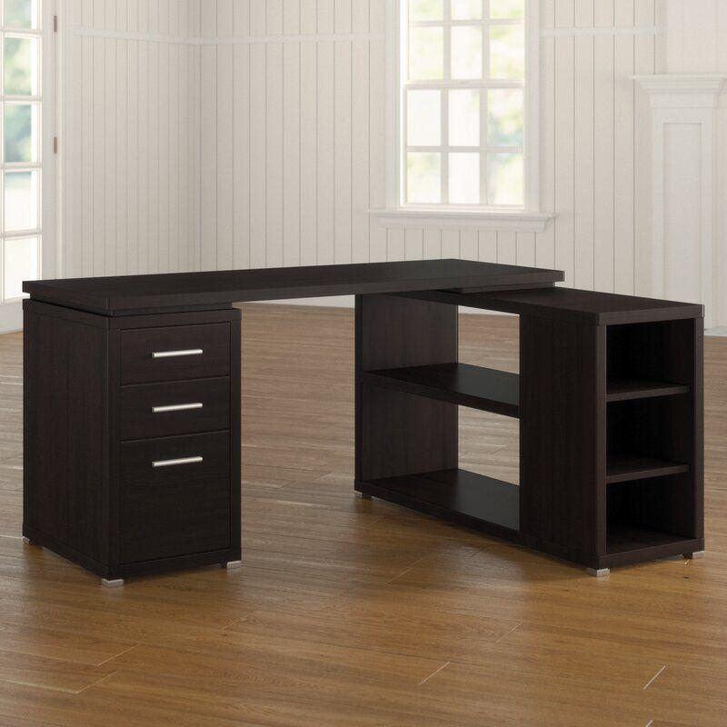 Davison Reversible L Shape Executive Desk In 2020 L Shaped Executive Desk Desk Executive Desk