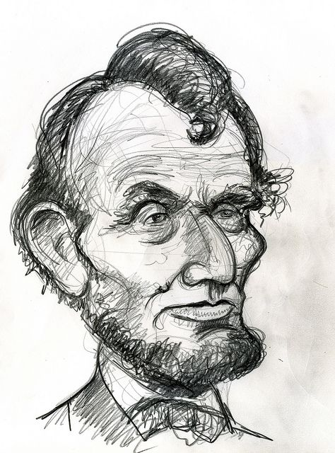 abraham lincoln by caricature80 via flickr