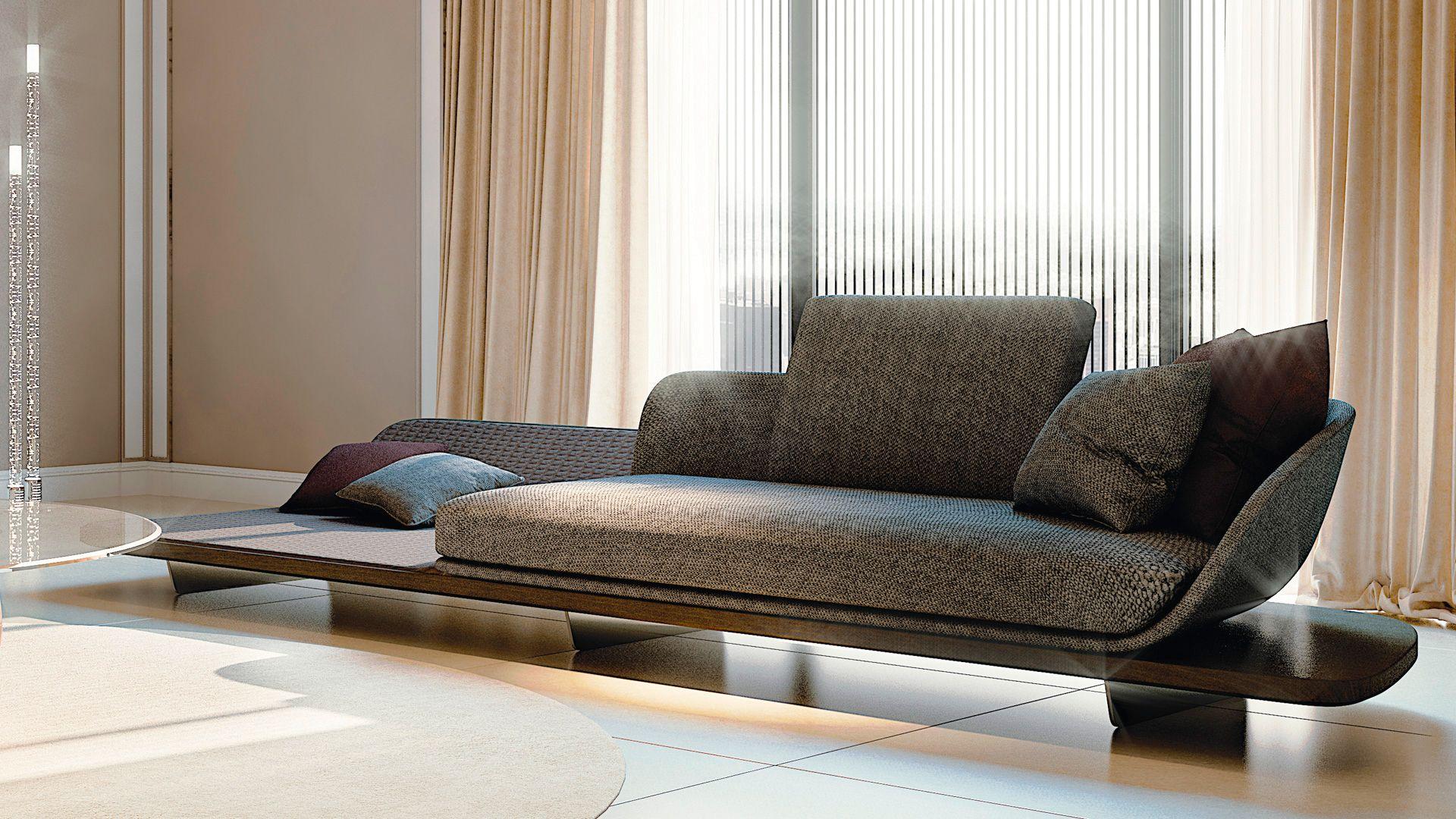High End Italian Segno Chaise Lounge Italian Designer Luxury