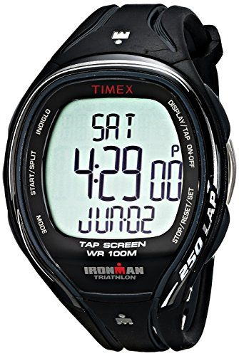 timex men s t5k588 ironman sleek fitness watch the timex men s t5k588 ironman sleek fitness watch