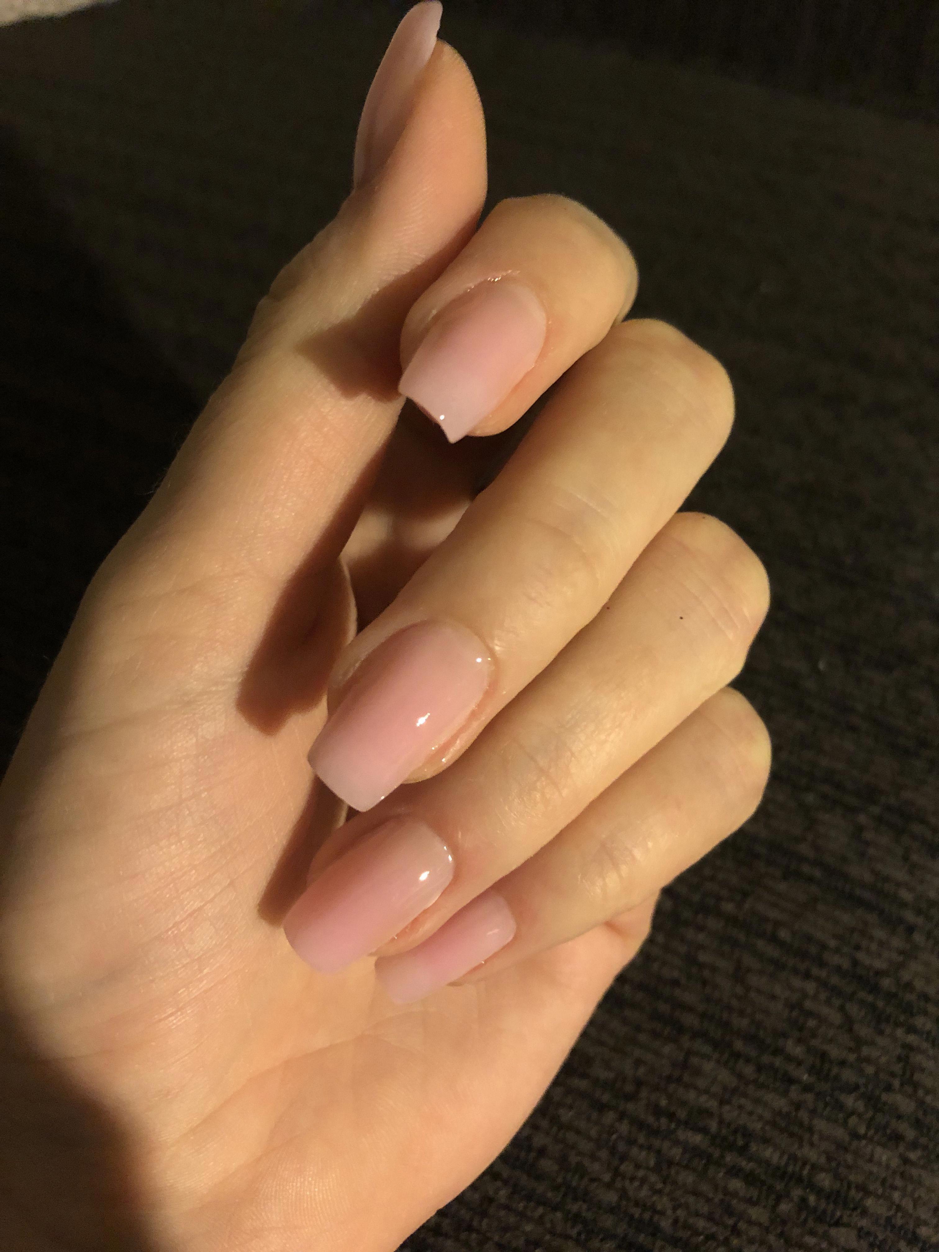 Polygel Nails Polygel Nails Natural Beauty Polygelnagel Polygel Nails Natural Beauty Beauty Curl In 2020 Hard Gel Nails Polygel Nails Natural Acrylic Nails
