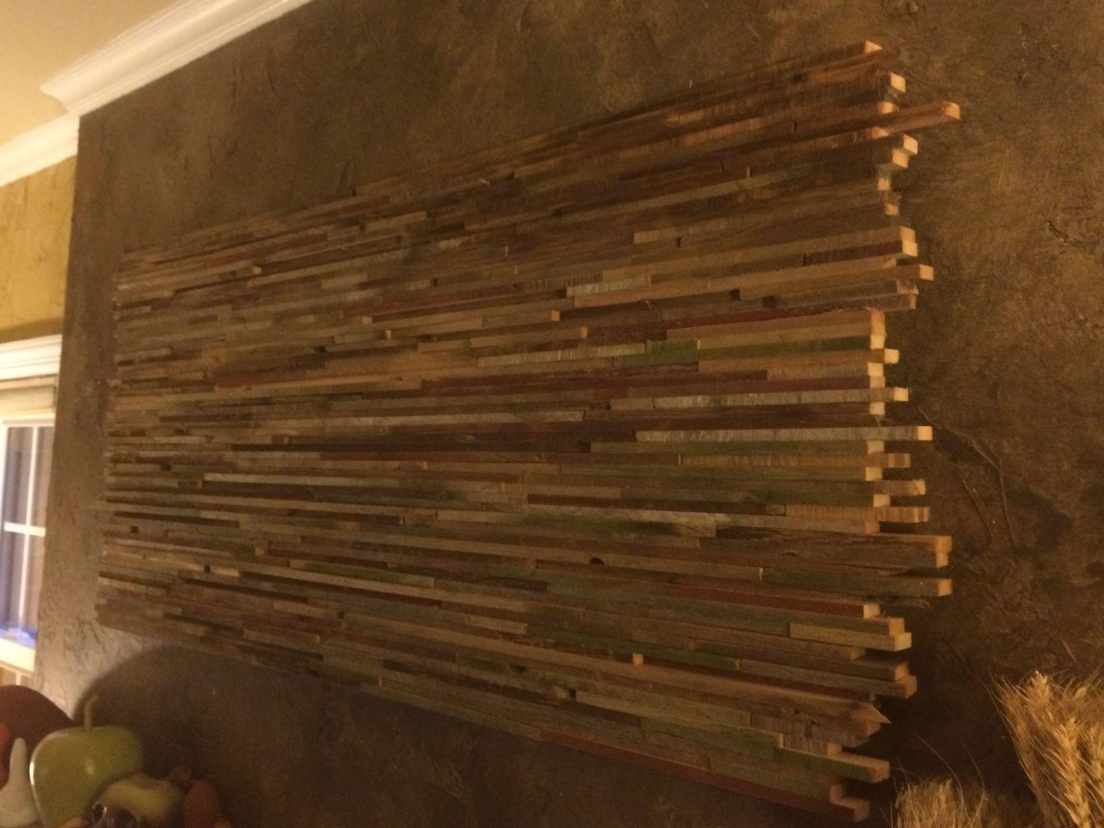 reclaimed wood doors wall art Google