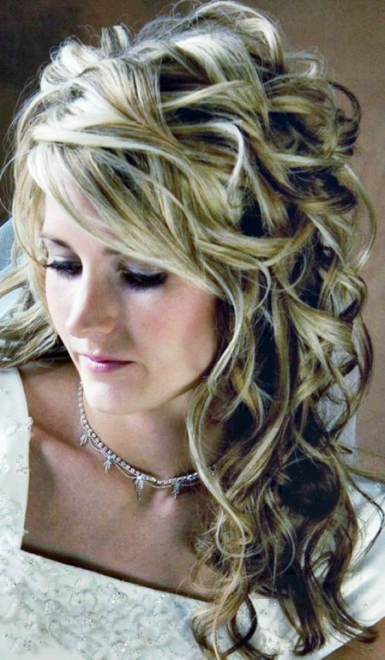 prom easy hairstyles for long thick hair #prom | curly