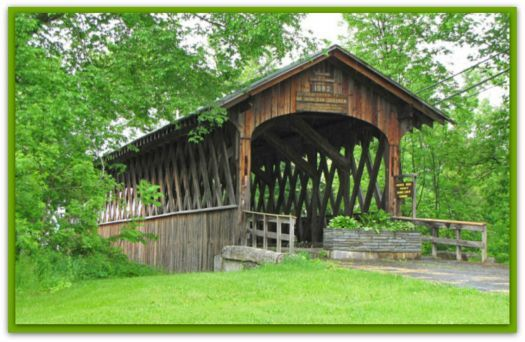 Herkimer Home Covered Bridge (187 pieces)